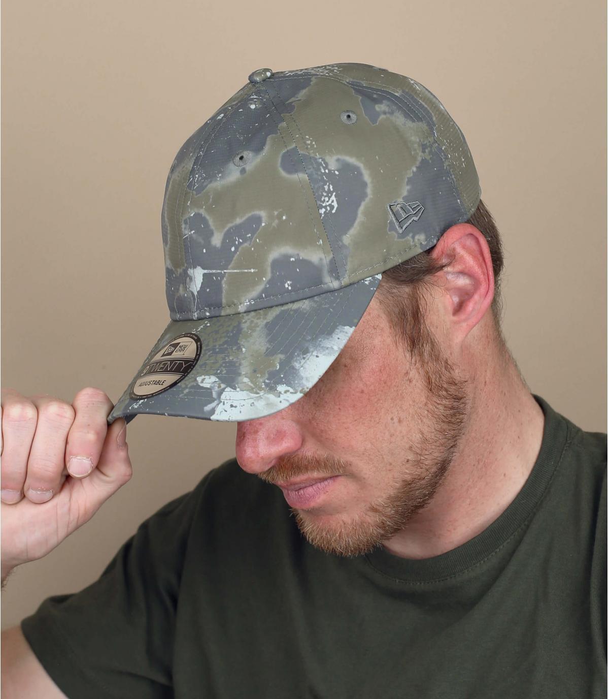 cappellino mimetico New Era