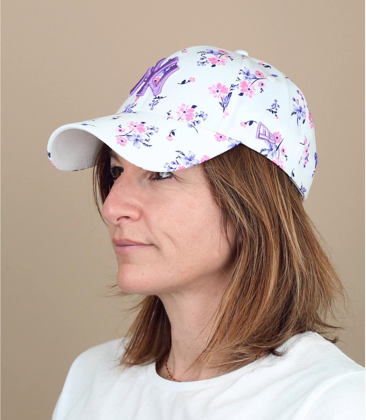 cappellino donna NY fantasia