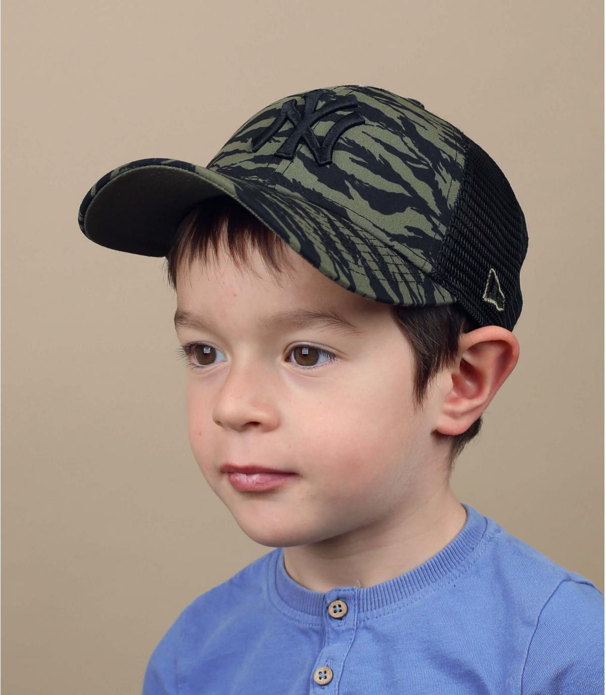 trucker per bambino verde NY