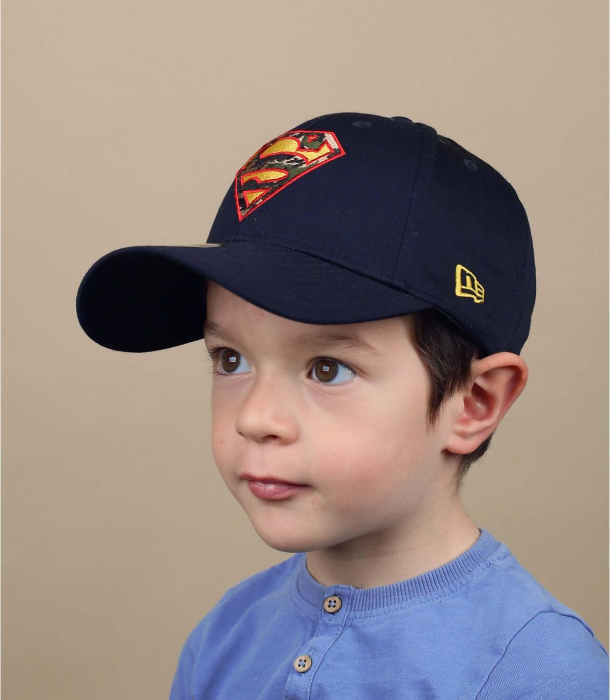 cappellino per bambino Superman
