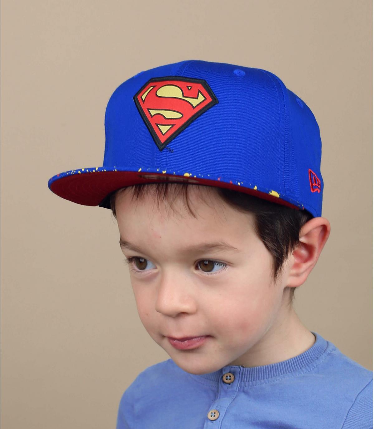 snapback per bambino Superman fantasia