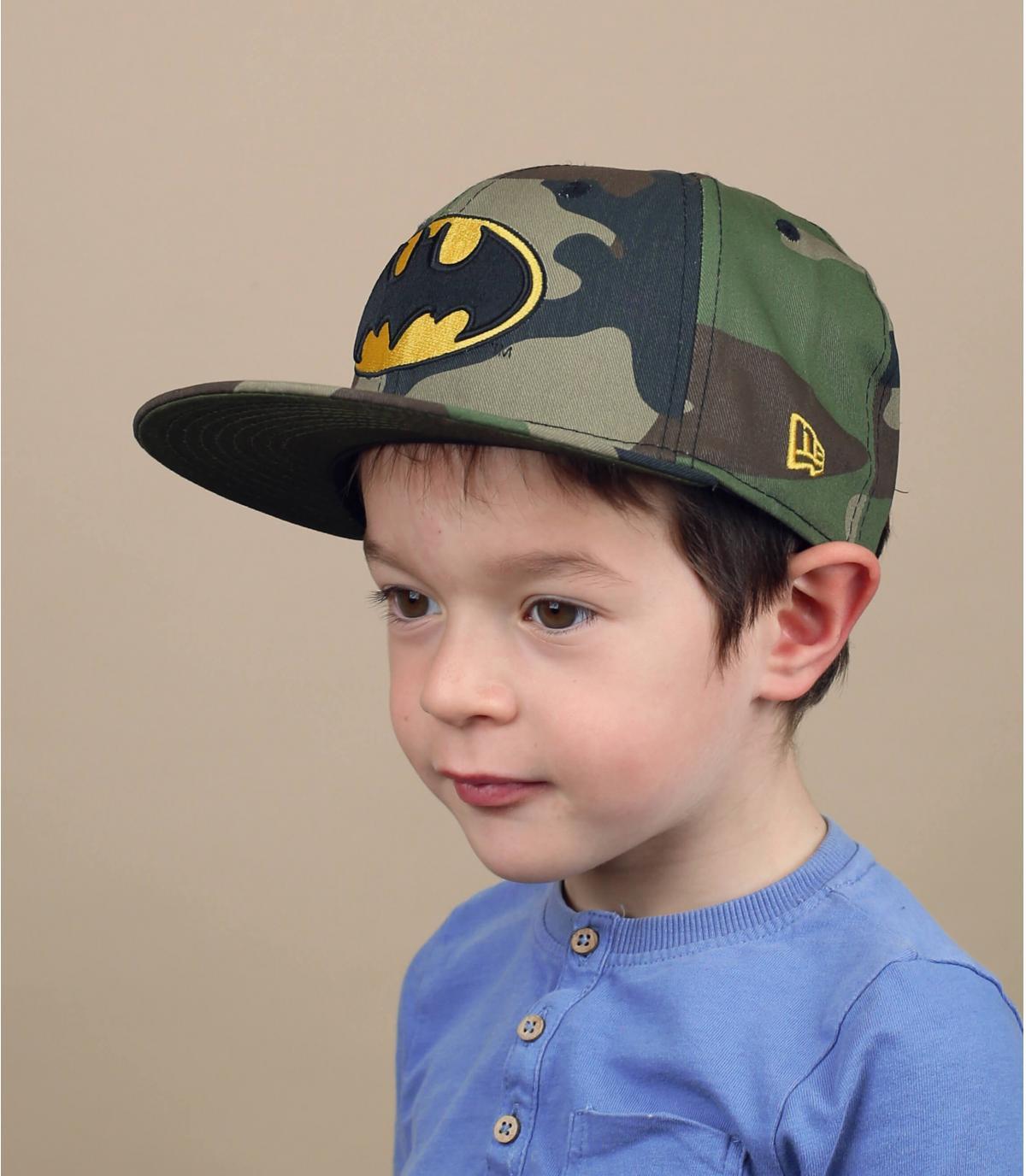 snapback bambino Batman mimetico