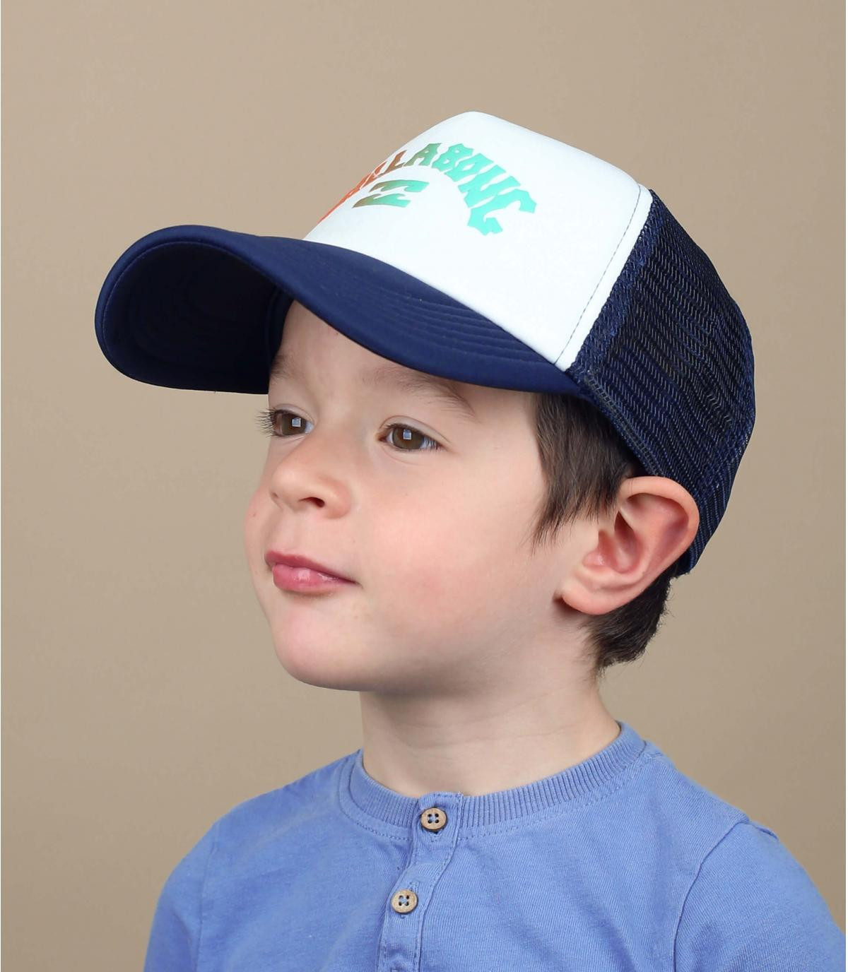 trucker bambino Billabong blu