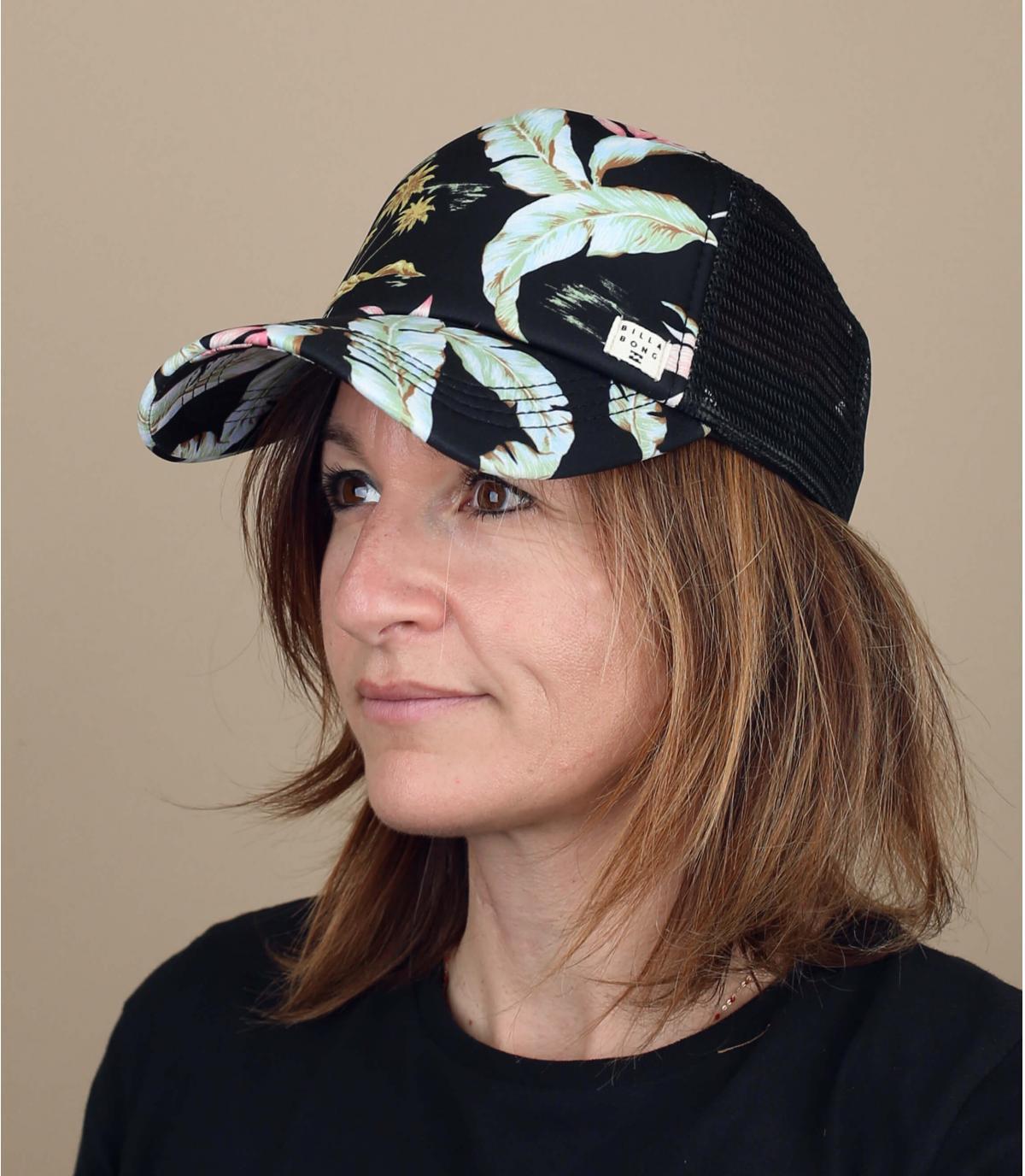 cappellino donna fiori Billabong