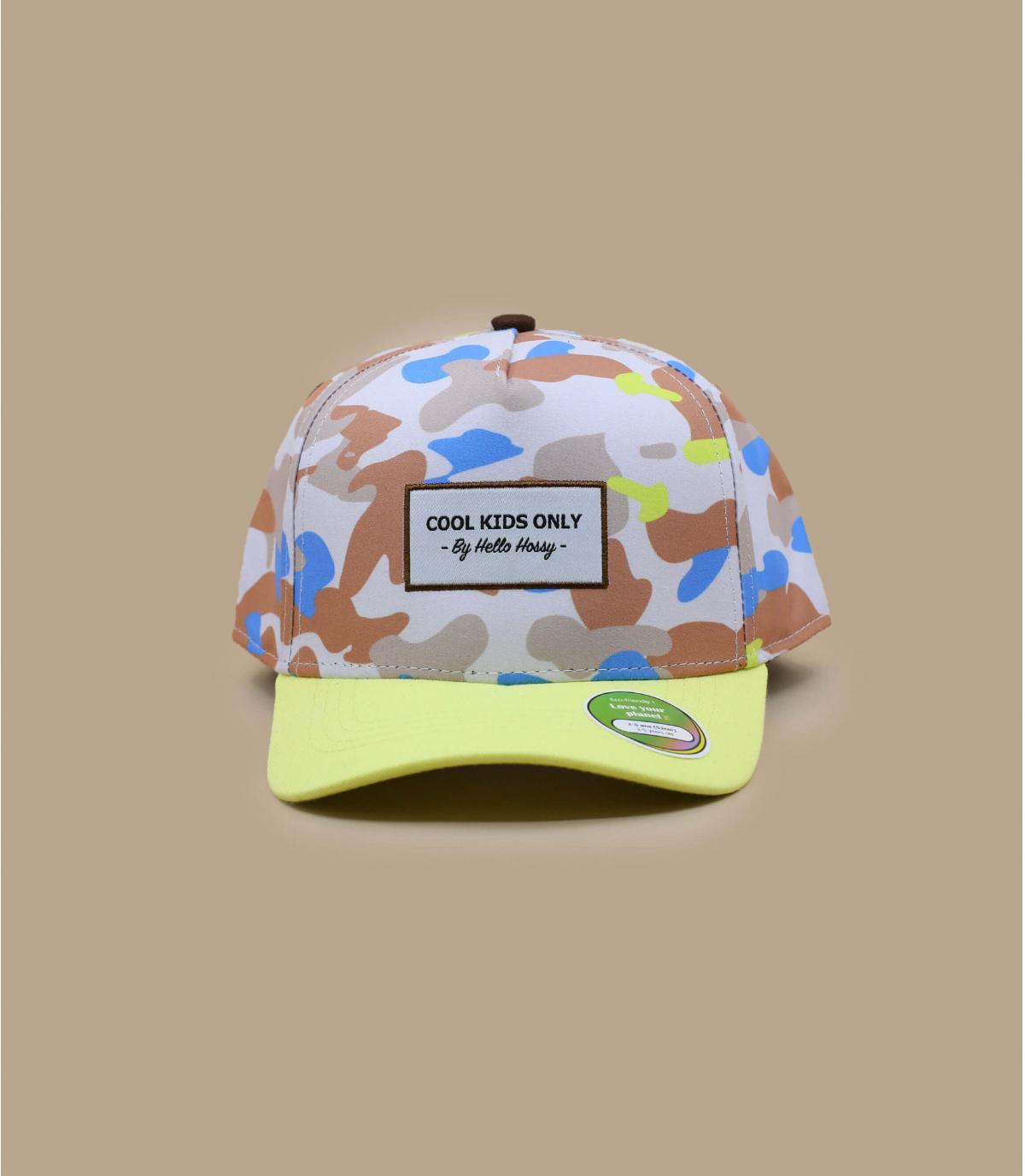 cappellino bambino mimetico