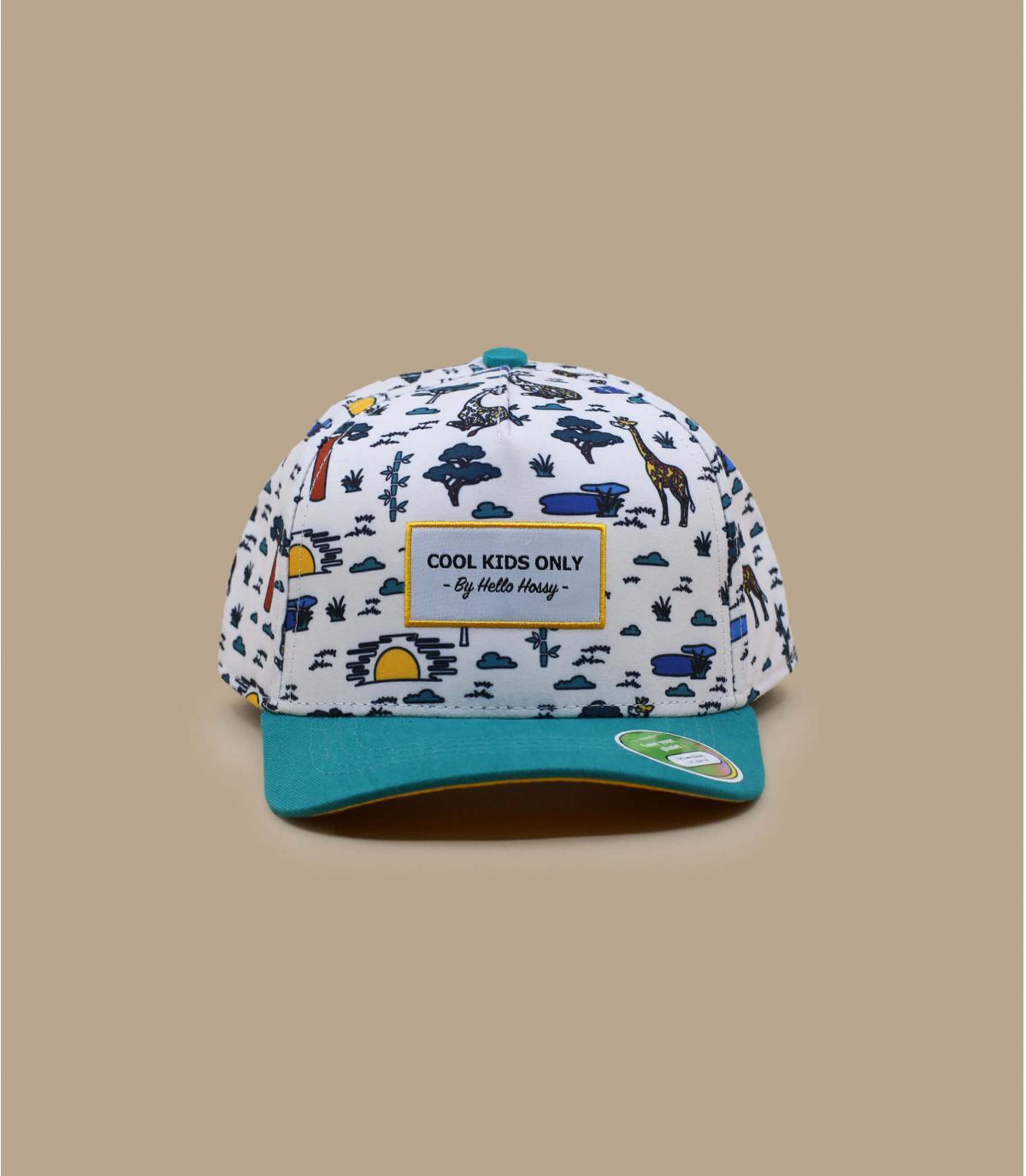 cappellino bambino con animali