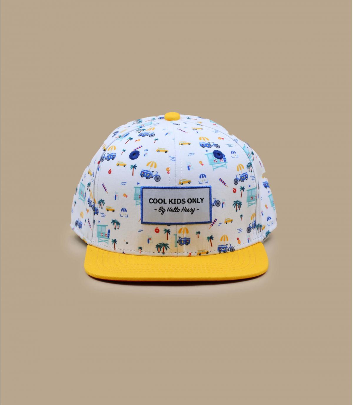 cappellino bambino giallo