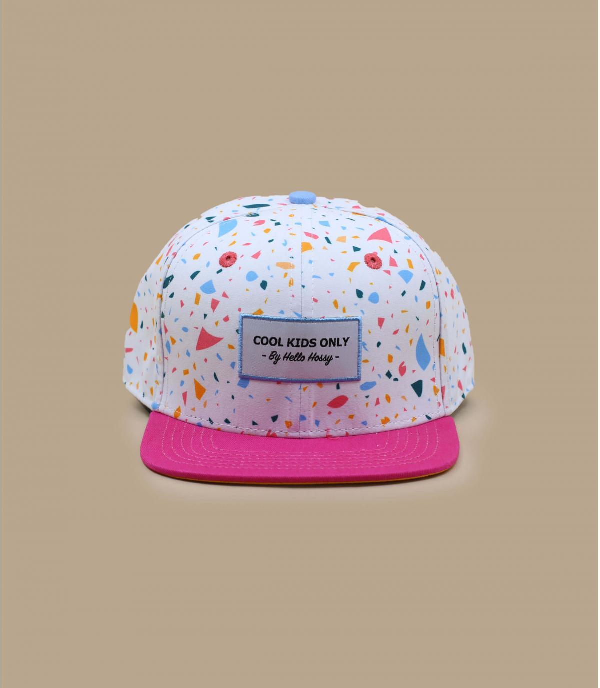 cappellino bambino rosa