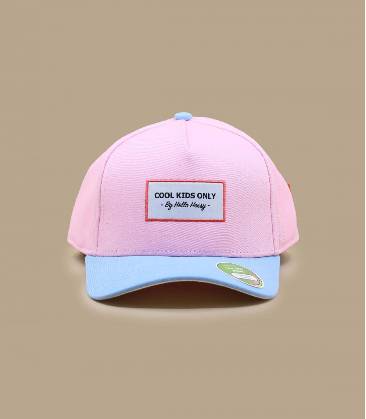 cappellino visiera curva bambino rosa