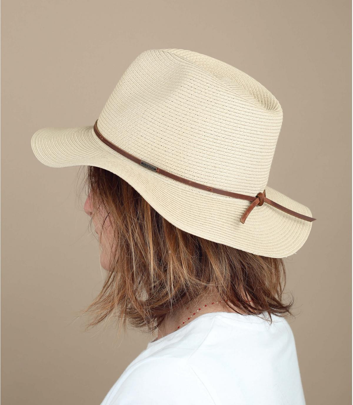 cappello paglia flessibile Brixton