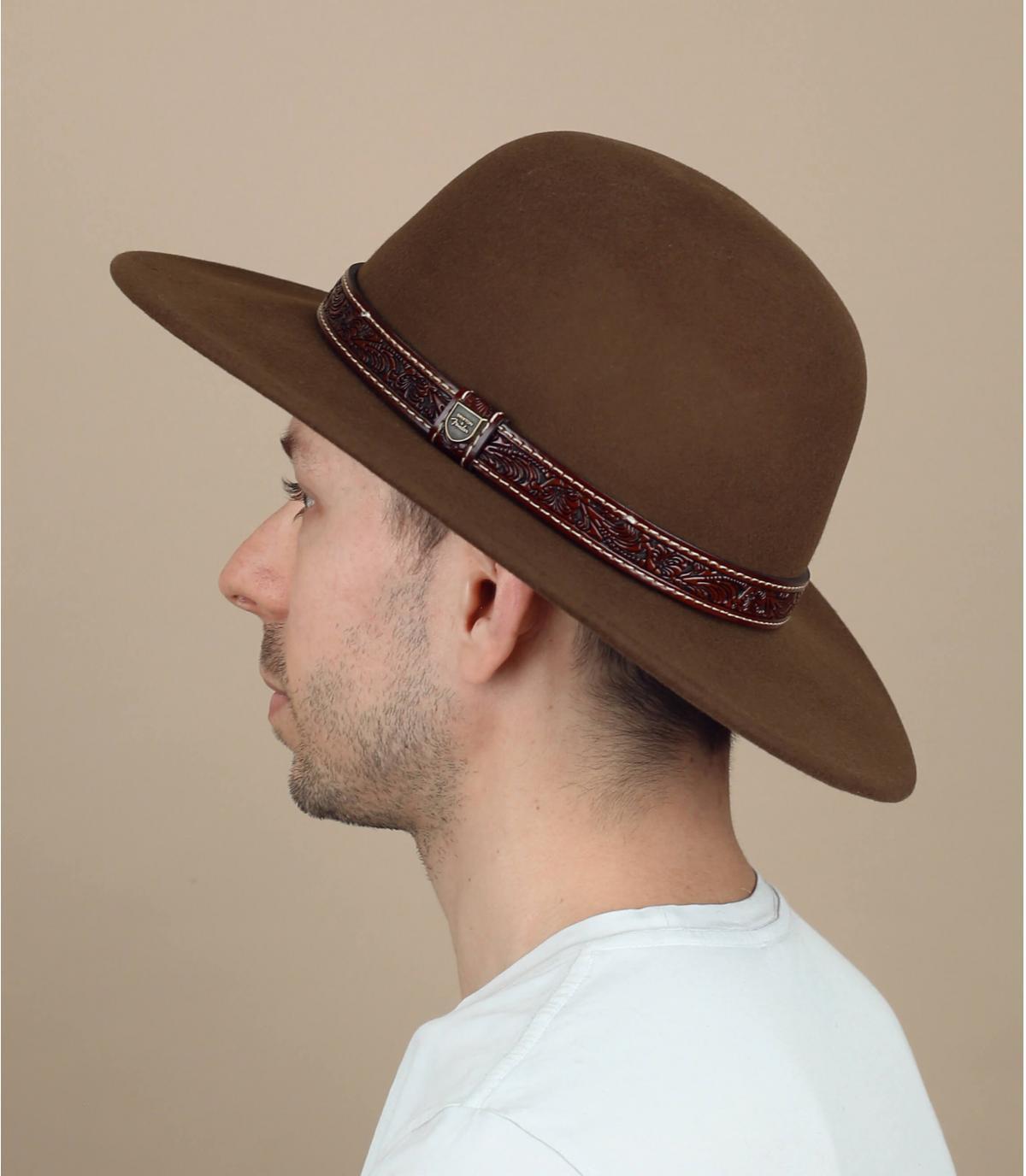 cappello scamosciato Brixton per Fender