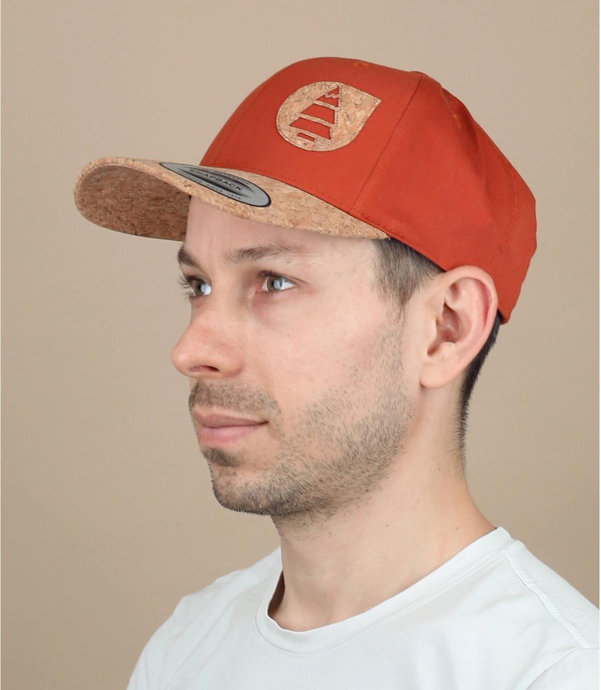 cappellino Picture arancione