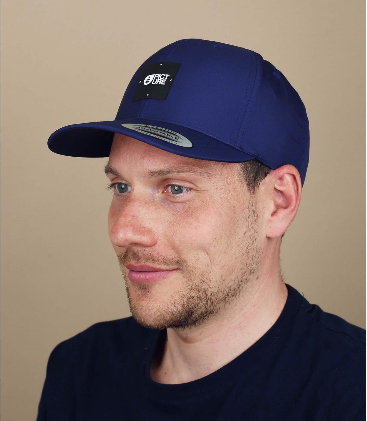 cappellino Picture blu marino