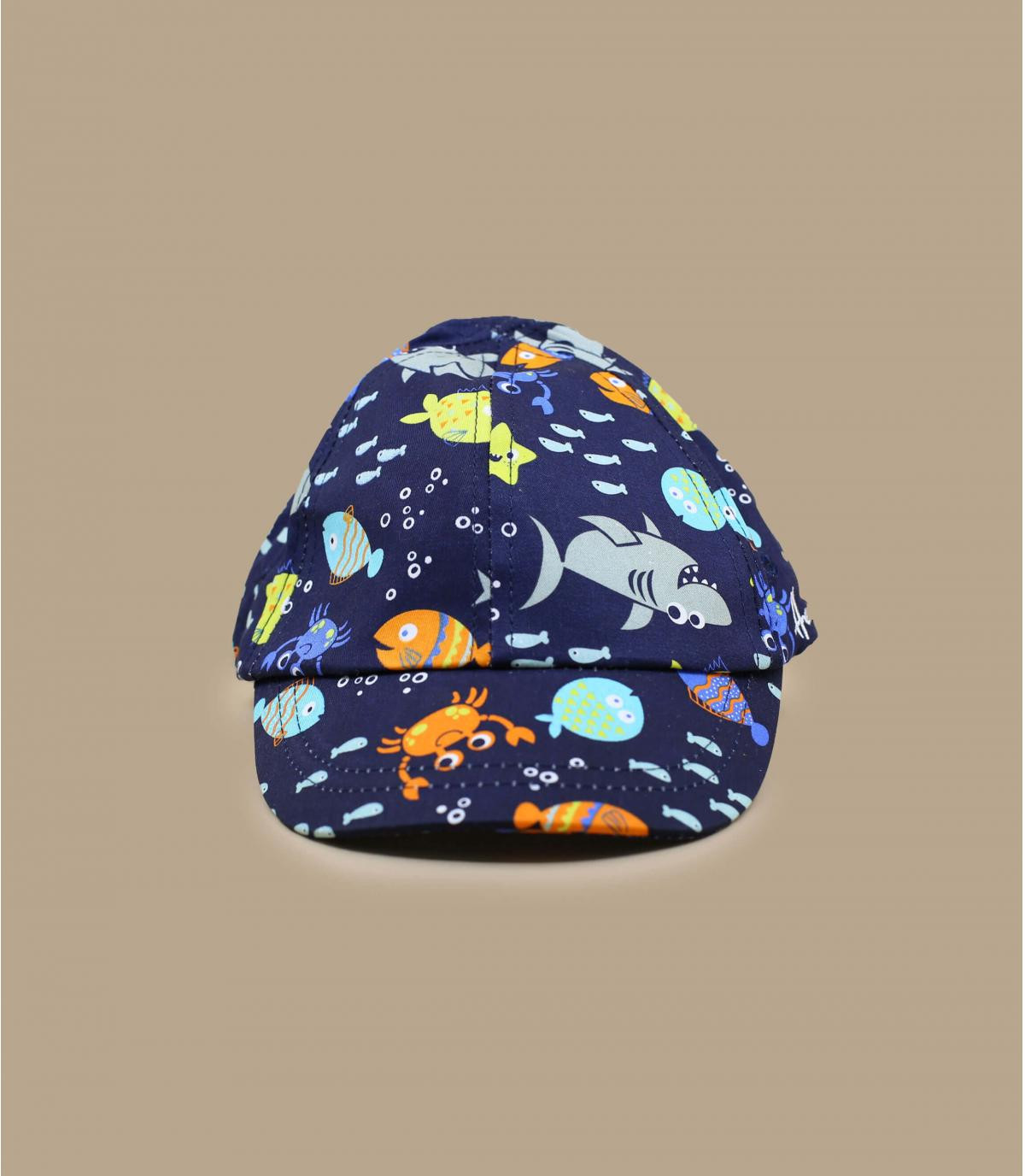 cappellino bambino blu