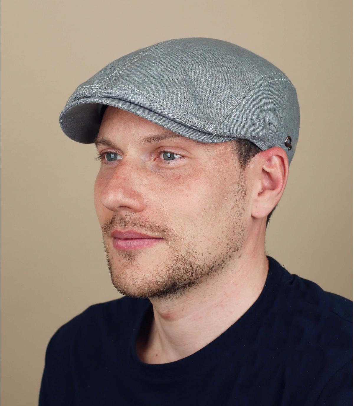 berretto lino grigio Göttman