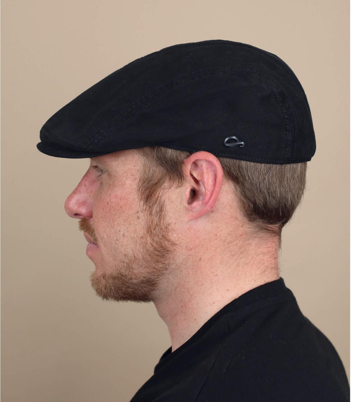 berretto cotone nero Göttman