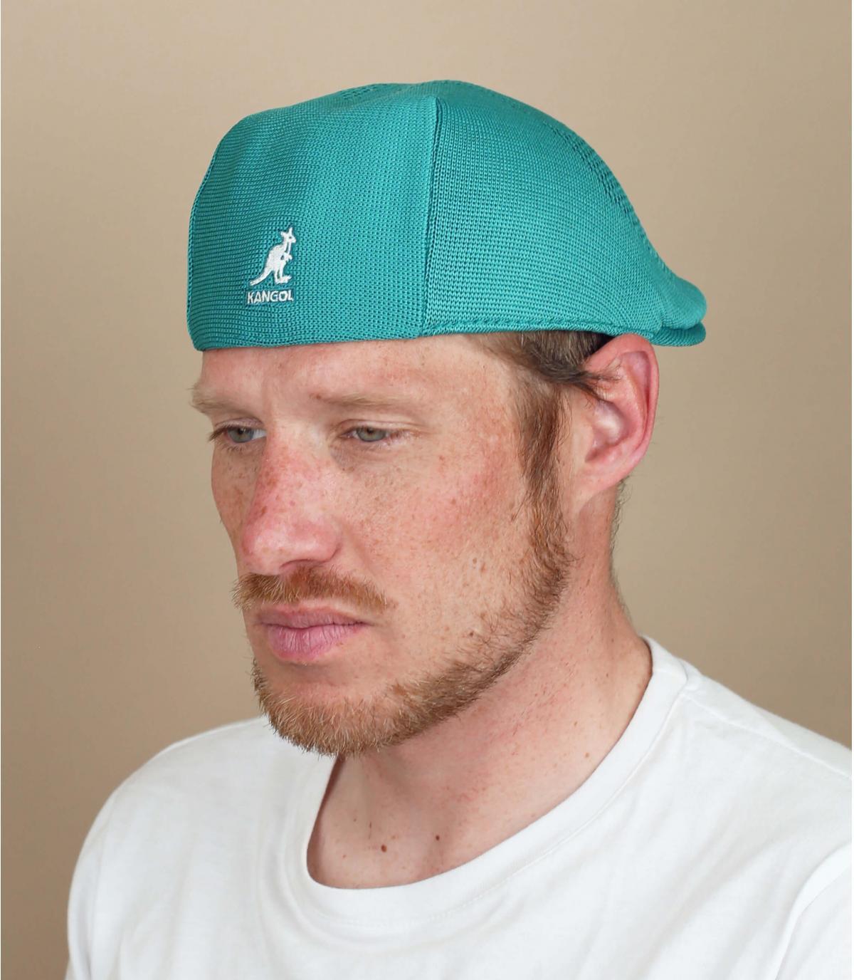 berretto blu ventilato Kangol