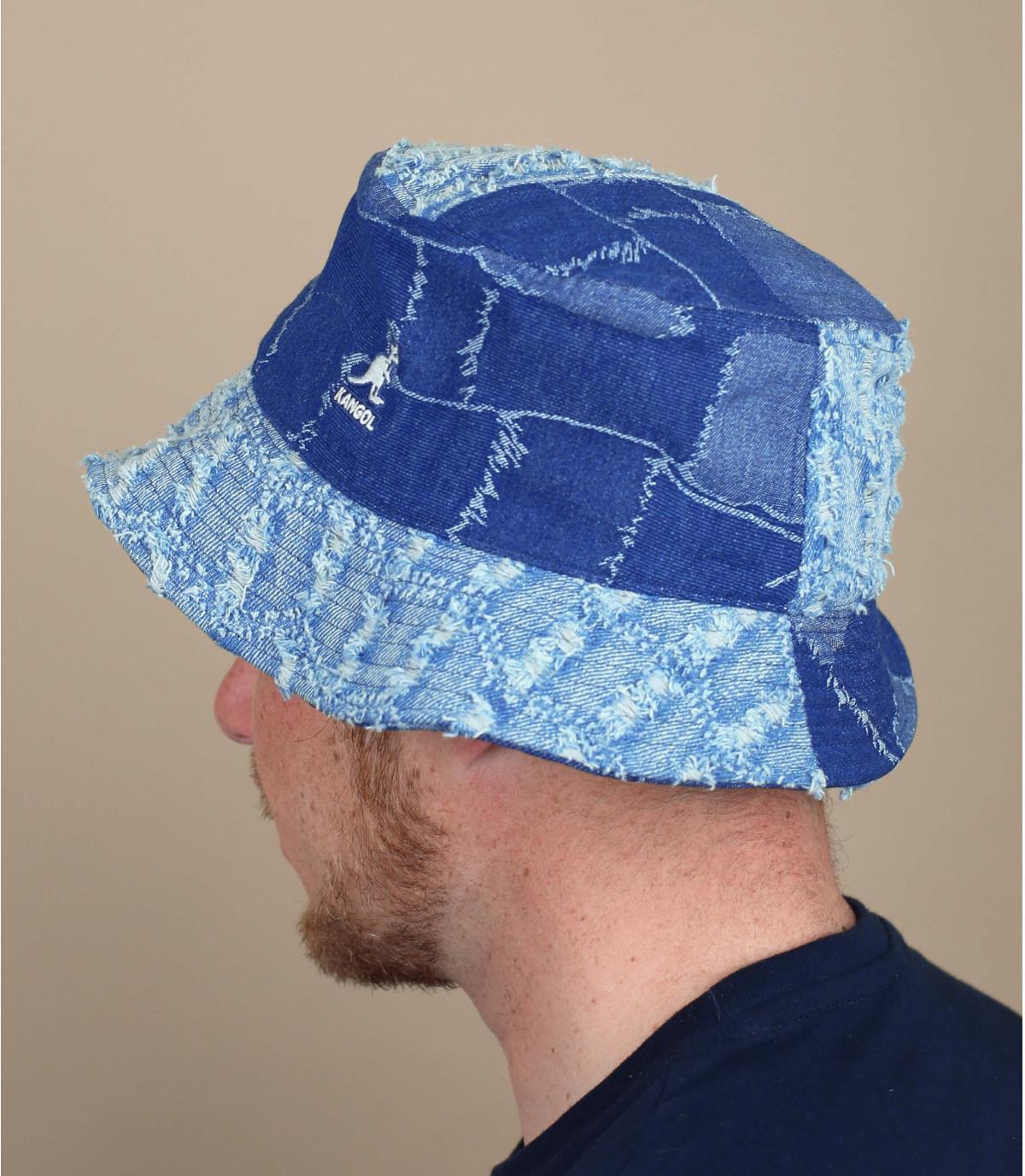 bob Jangol denim patchwork