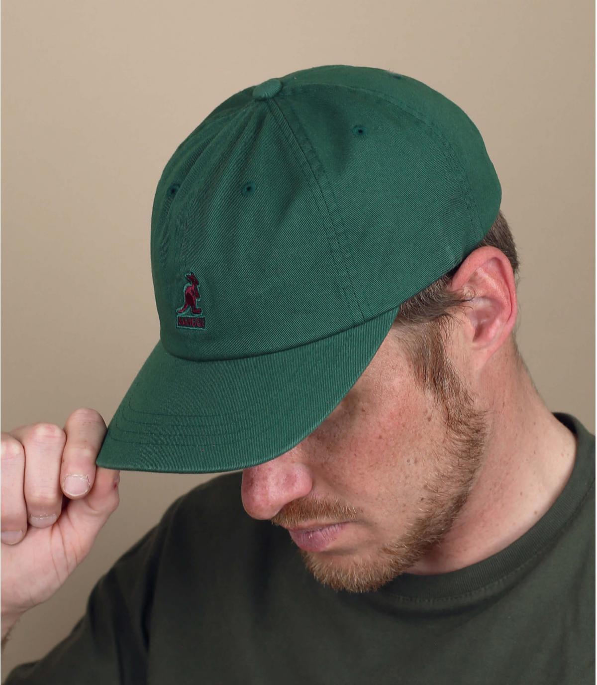 cappellino Kangol verde