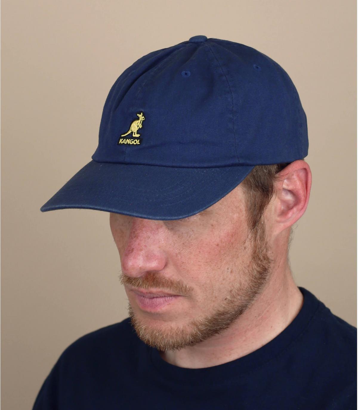 cappellino Kangol blu marino