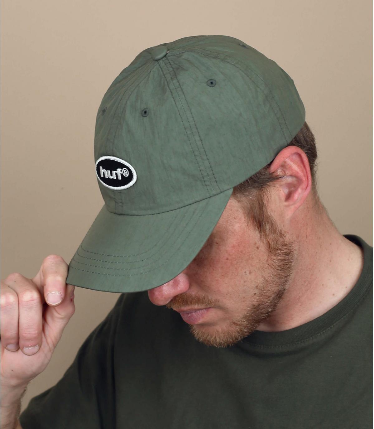 cappellino Huf verde