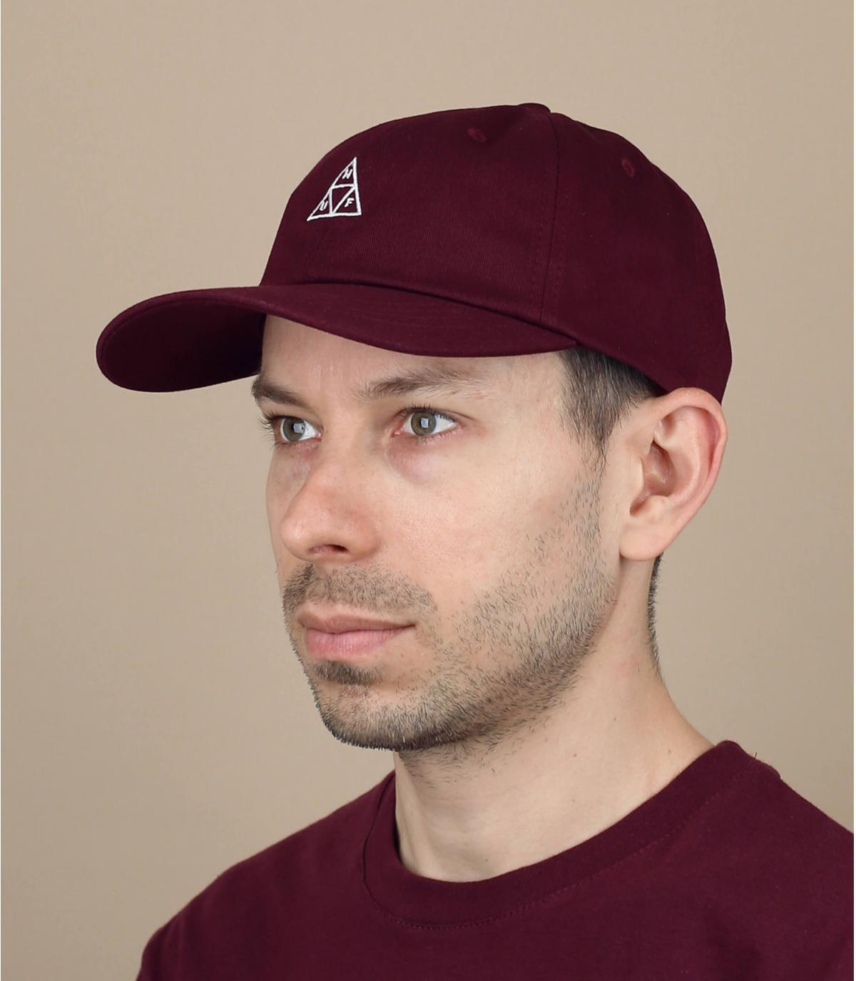 cappellino bordeaux Huf