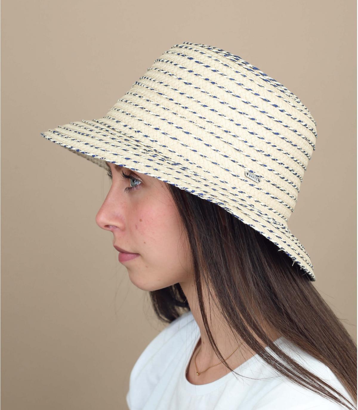 cappello cloche paglia Barts