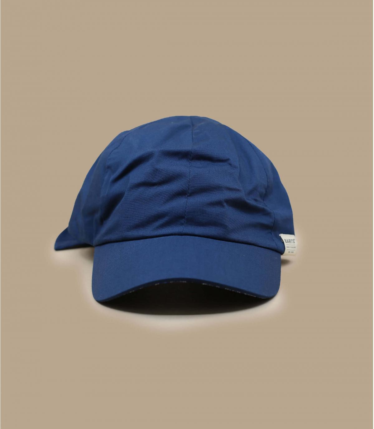 cappellino donna blu marino