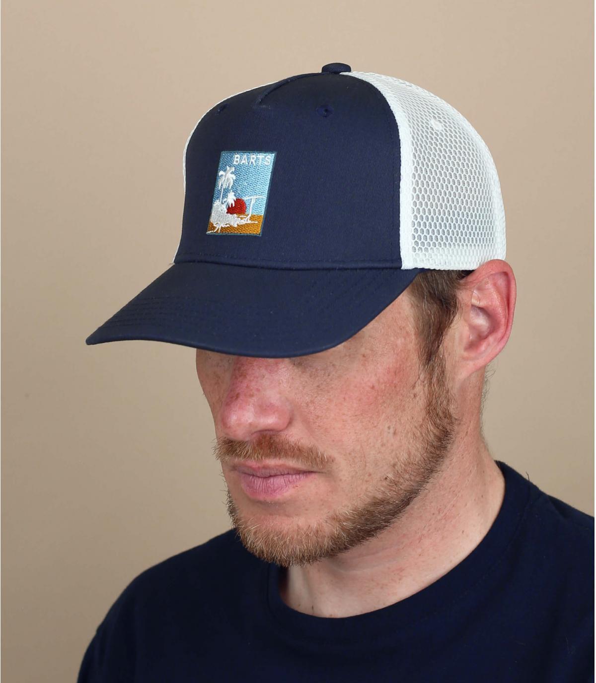 trucker blu patch Barts