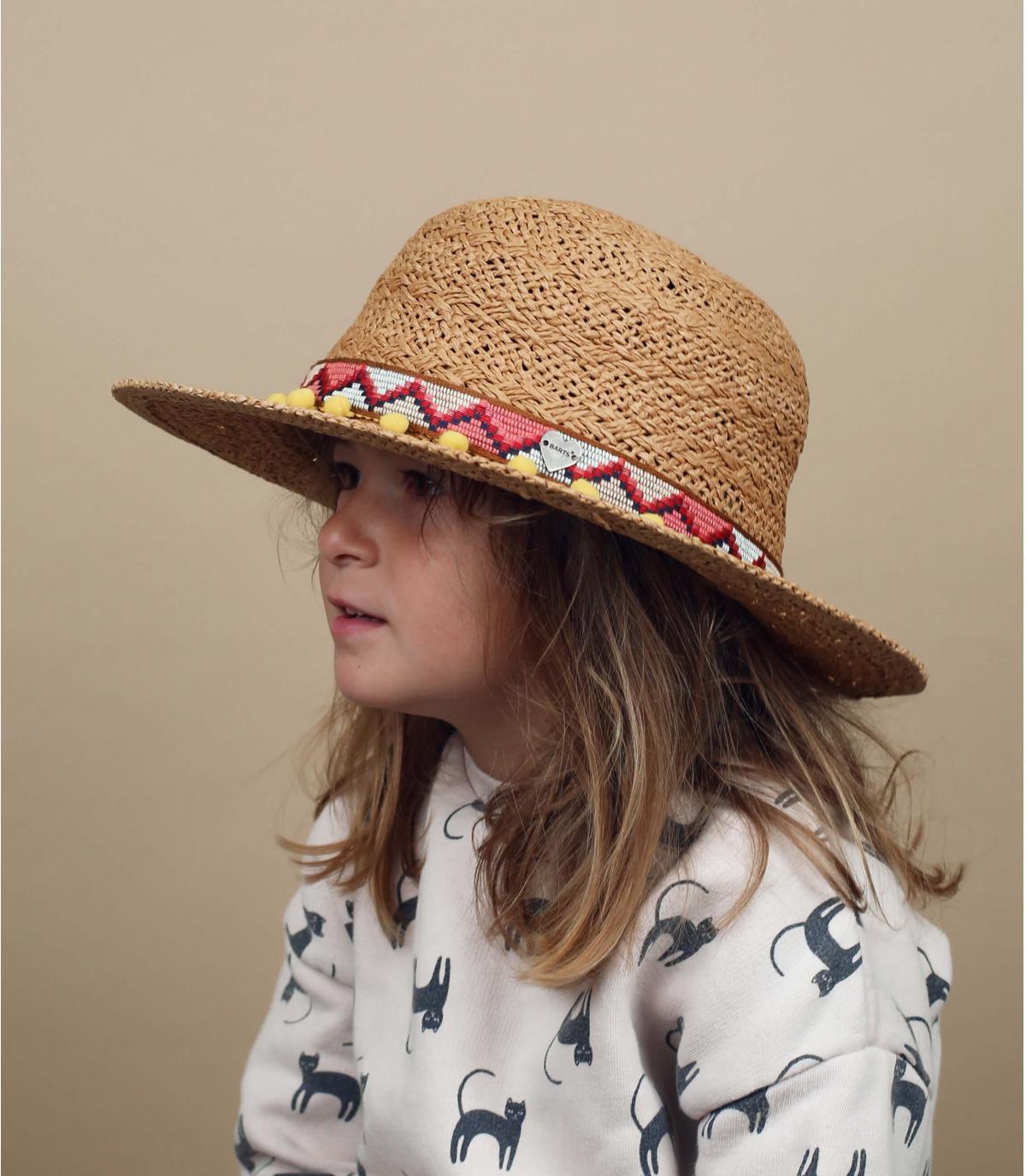cappello paglia bambino Barts