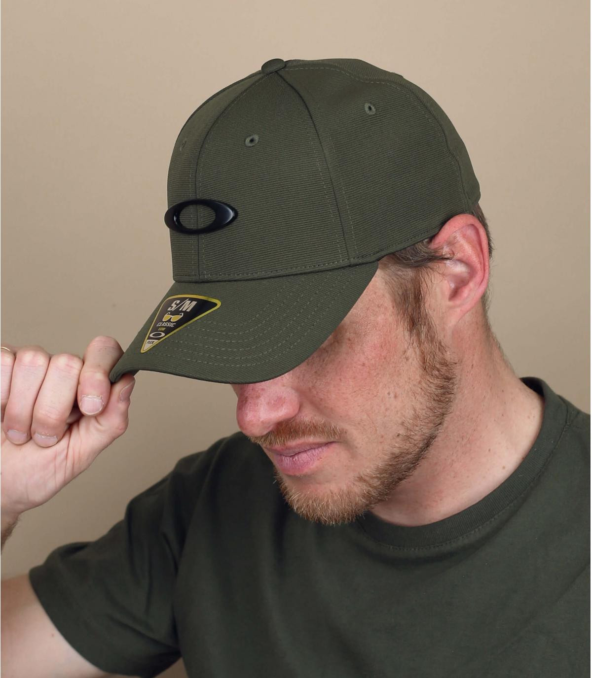 cappellino Oakley verde
