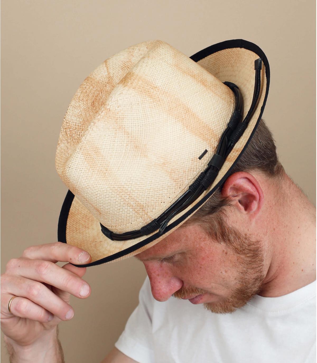 cappello paglia laccetto Bailey