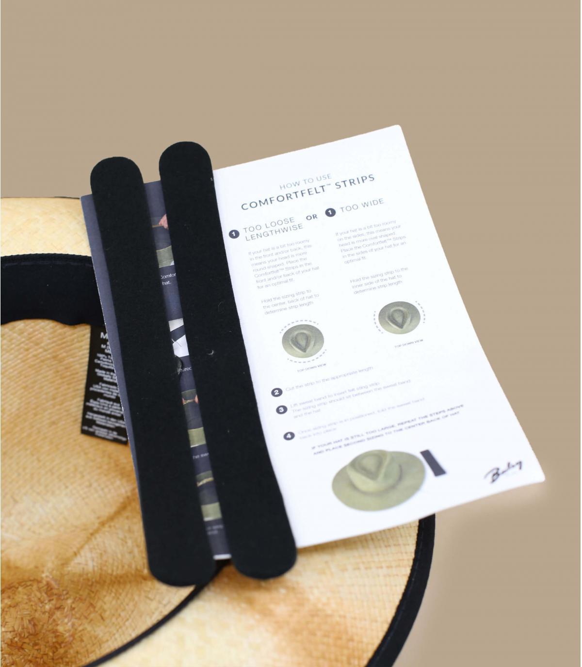 Dettagli Clafin Panama tea stain - image 4