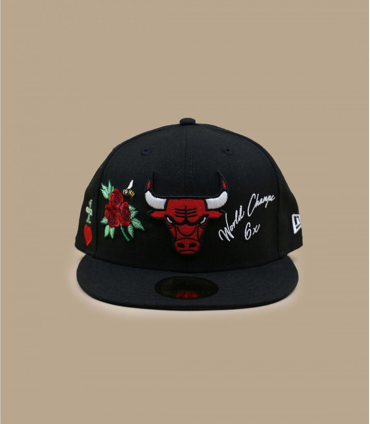 cappellino Bulls con patch