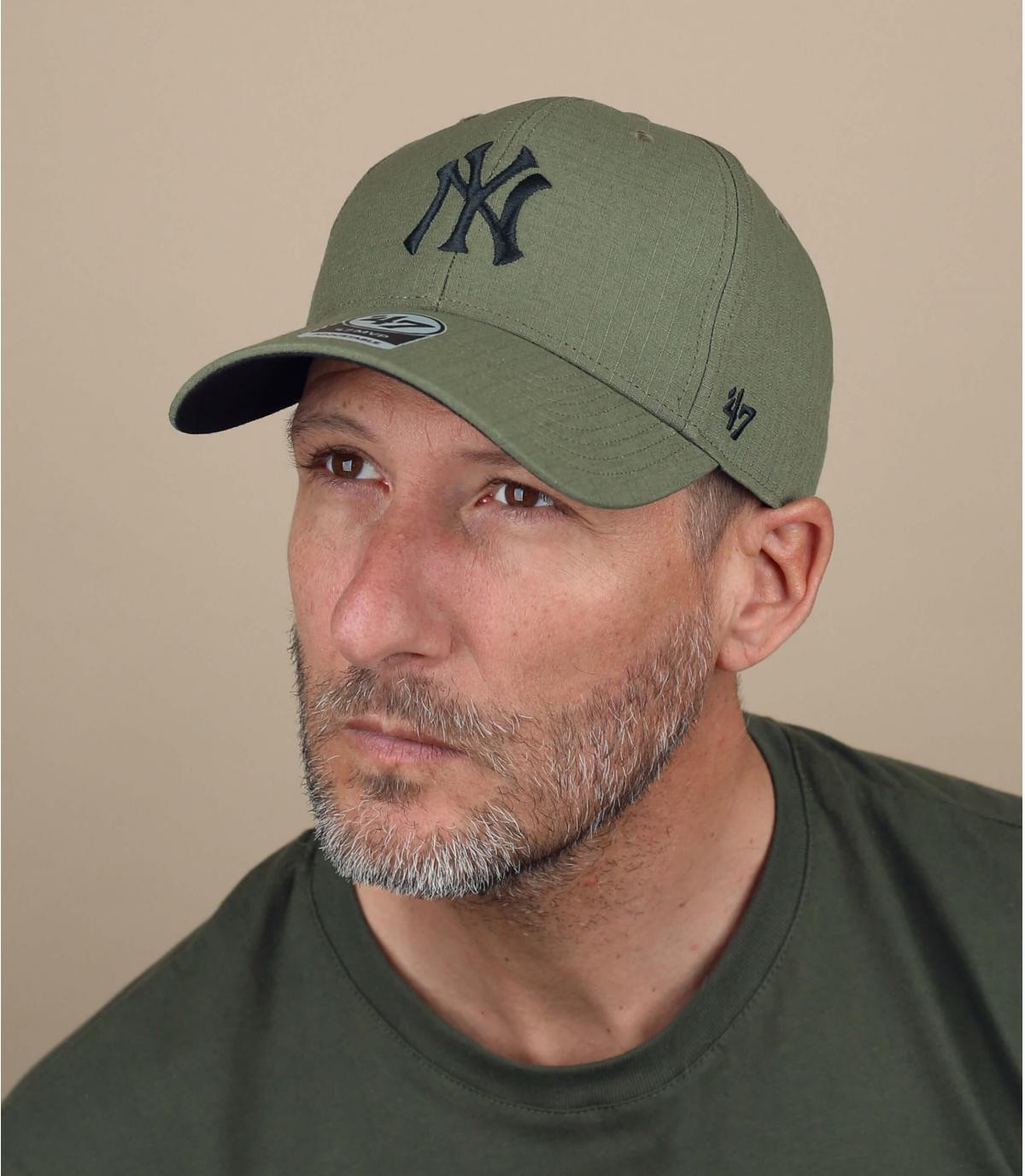 cappellino NY verde