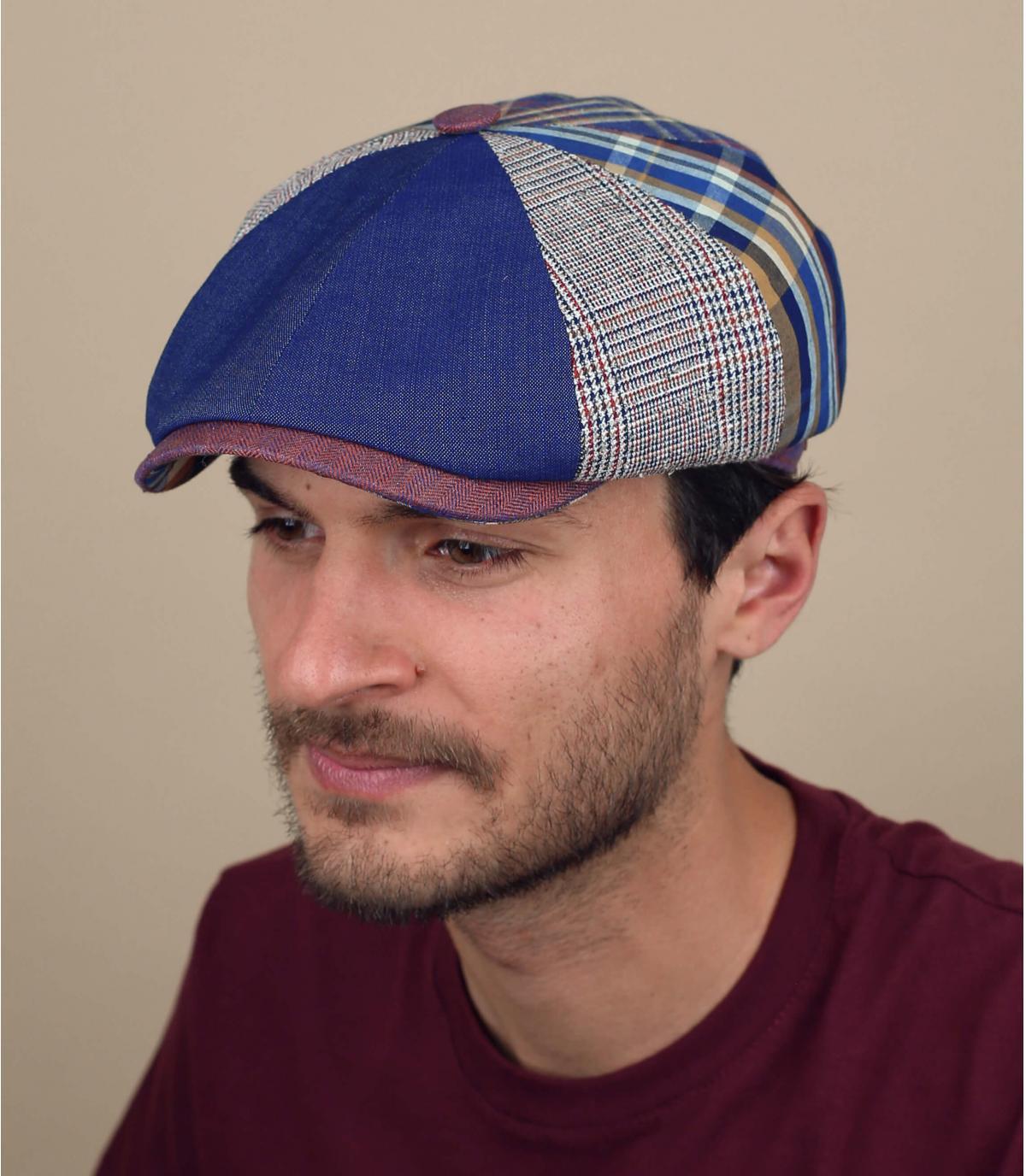 Cappello alla gavroche patchwork