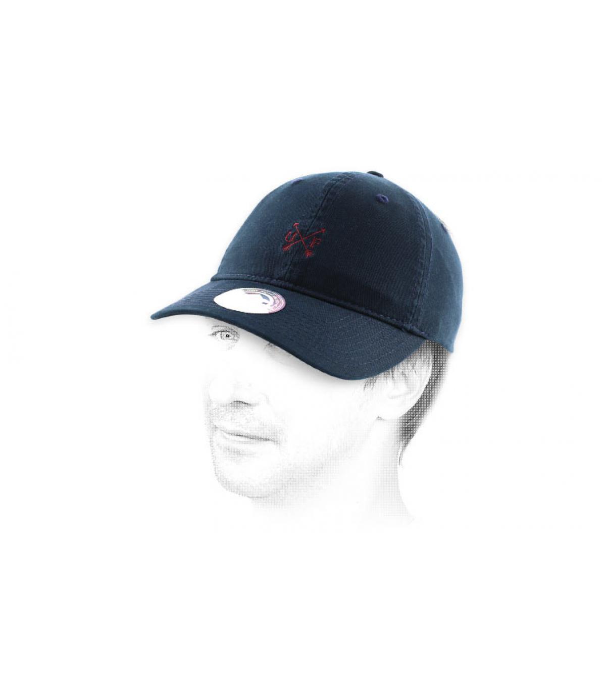 Dettagli Cappellino Wingate navy - image 5