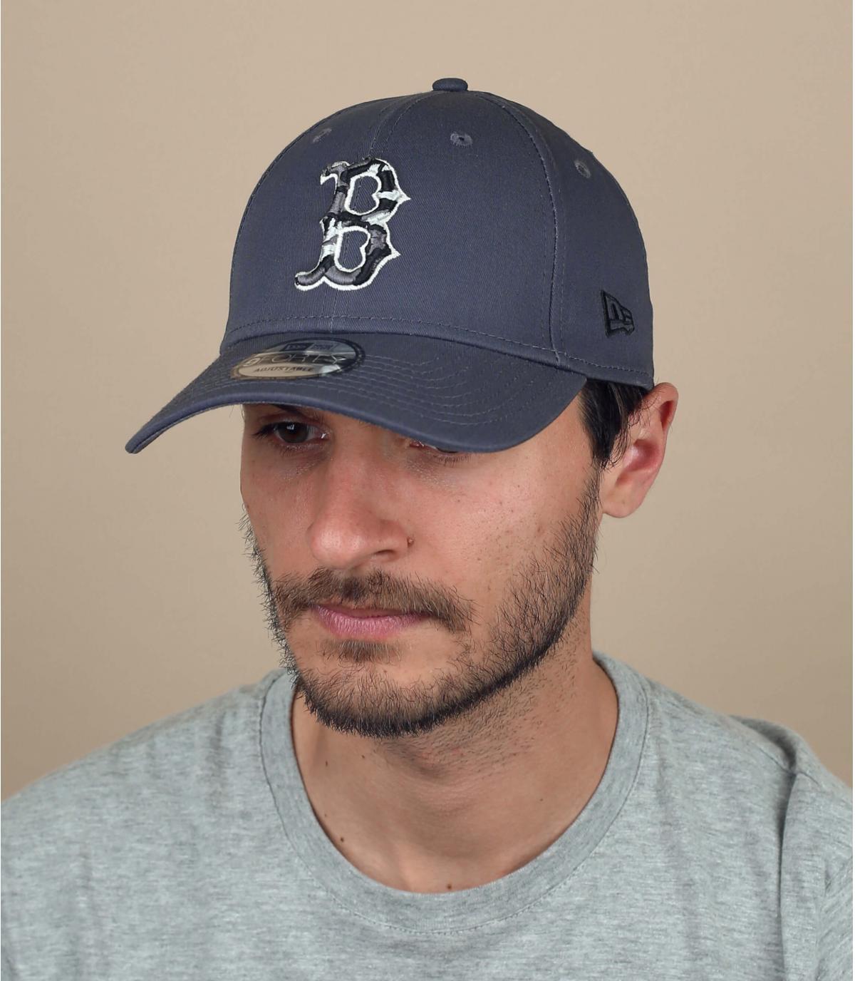 Cappellino B grigio