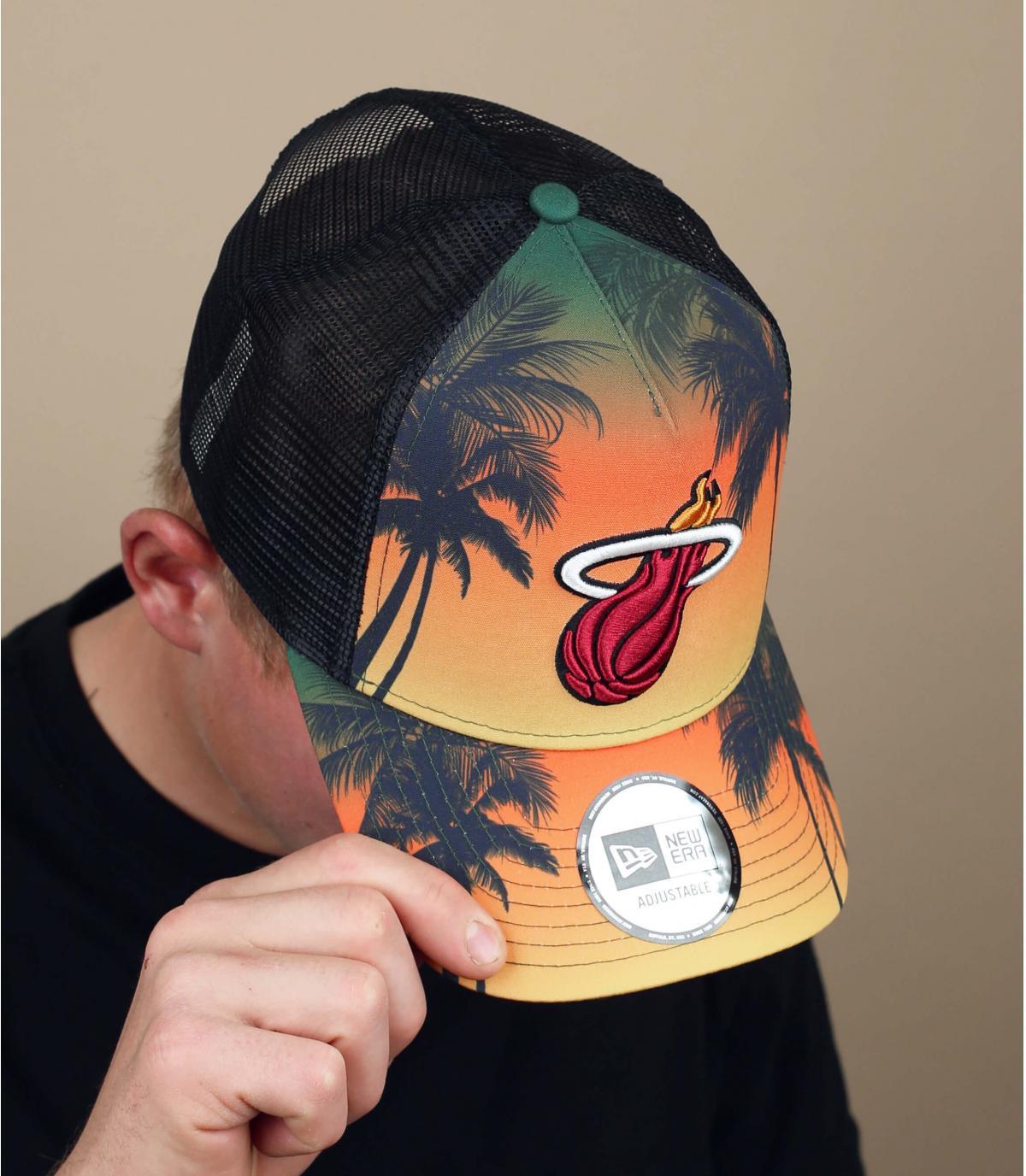 trucker Miami Heats con palme