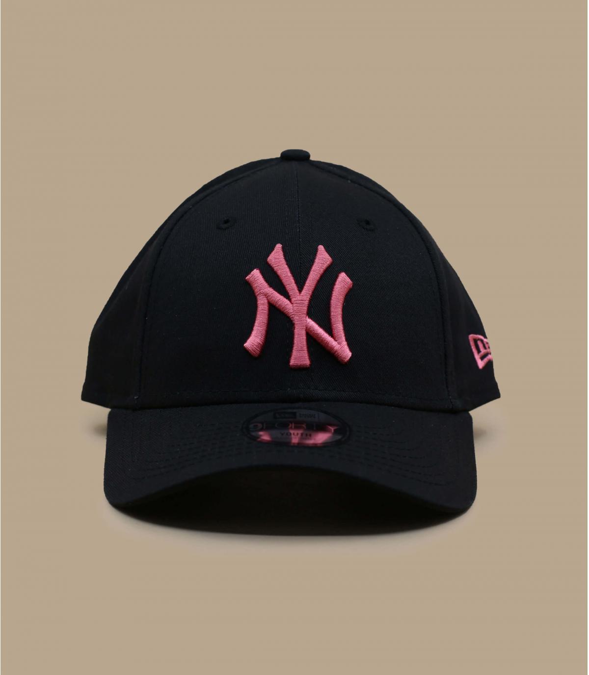 cappellino bambino NY rosa