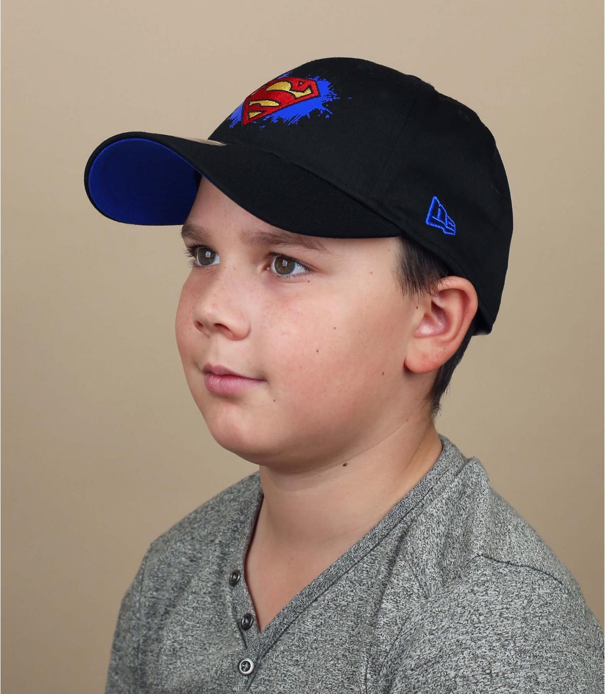 cappellino bambino Superman