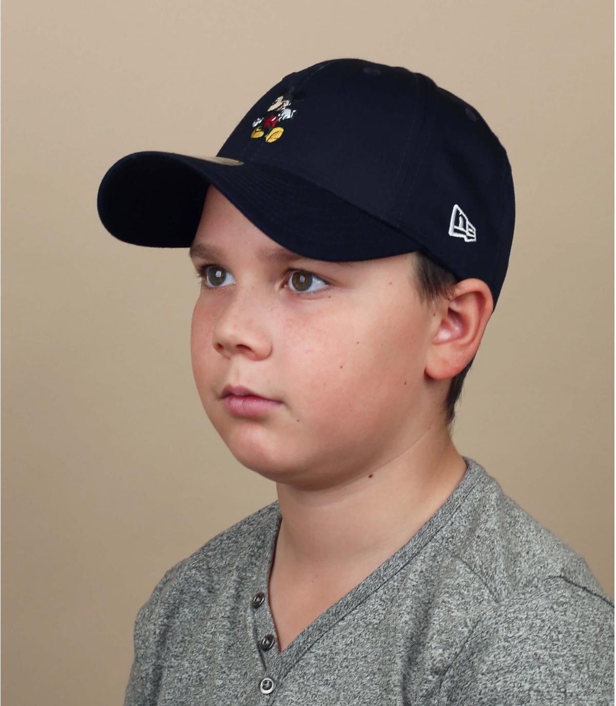 cappellino Topolino blu navy