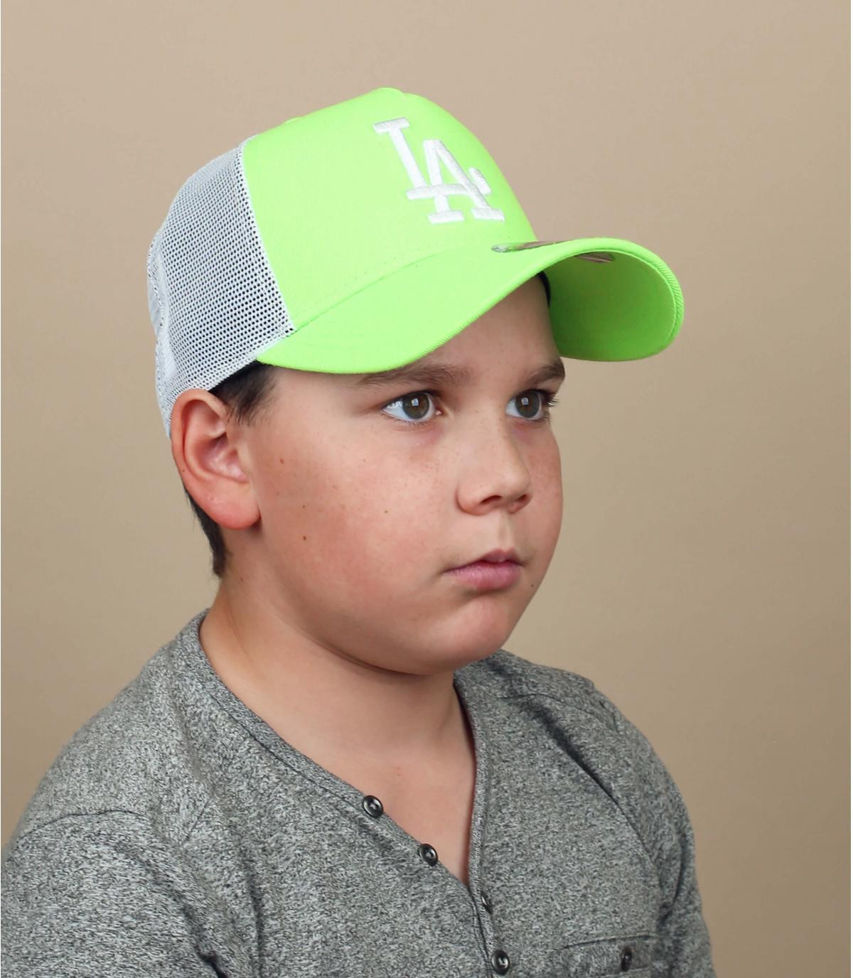 trucker bambino LA verde