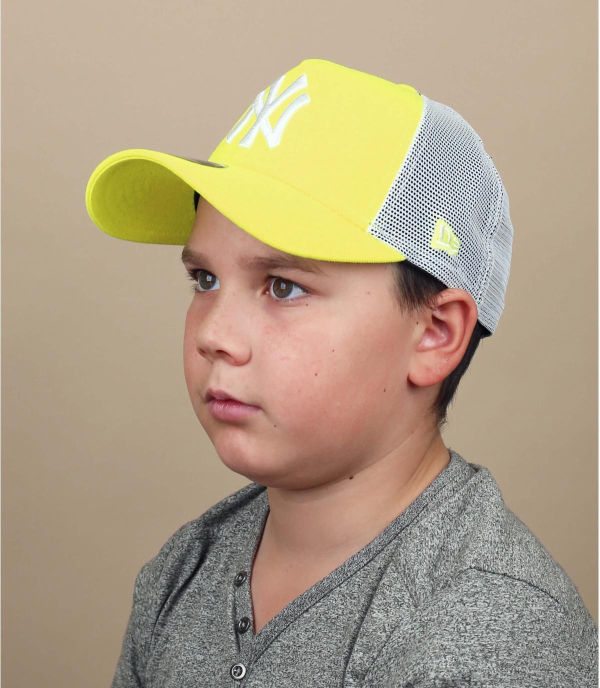 trucker NY giallo bambino