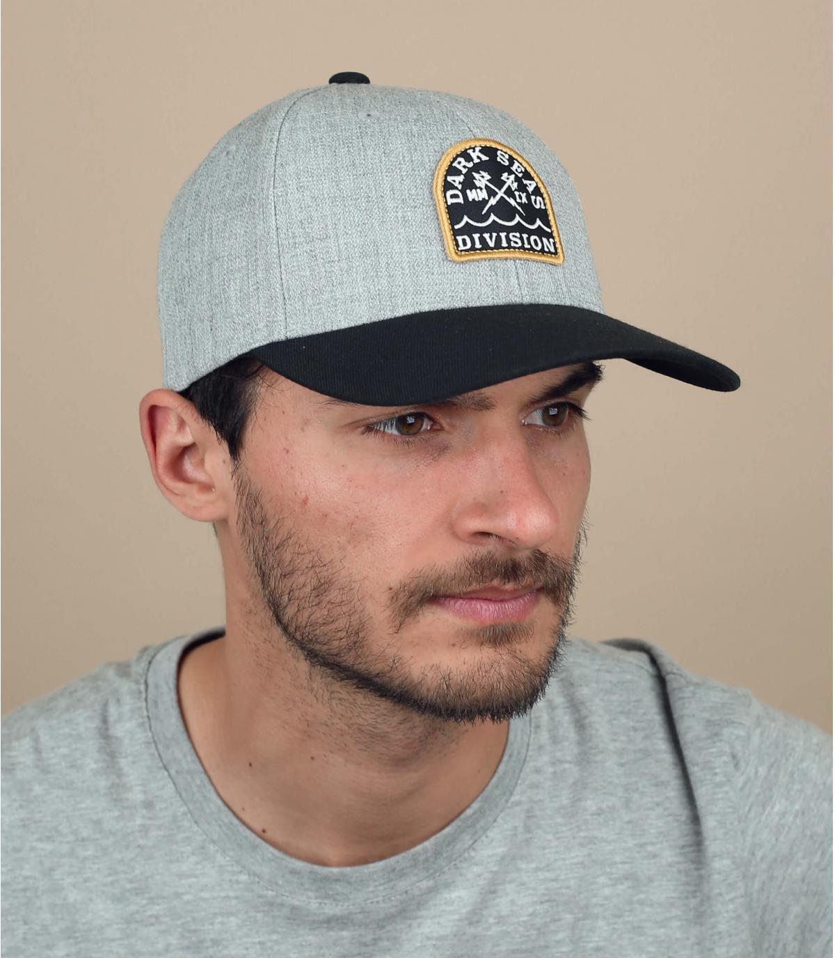 cappellino grigio Dark Seas