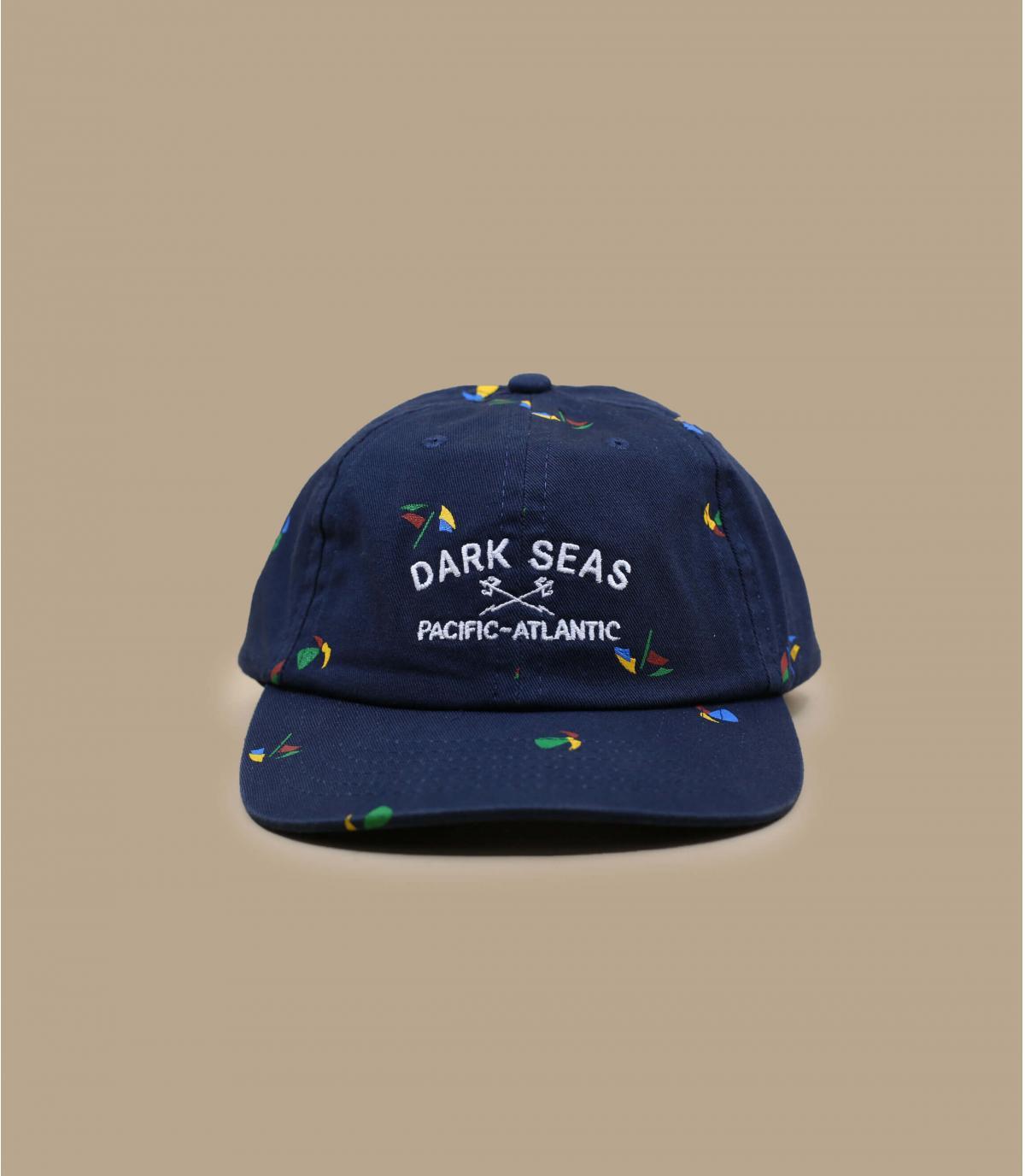 5 pannelli blu Dark Seas