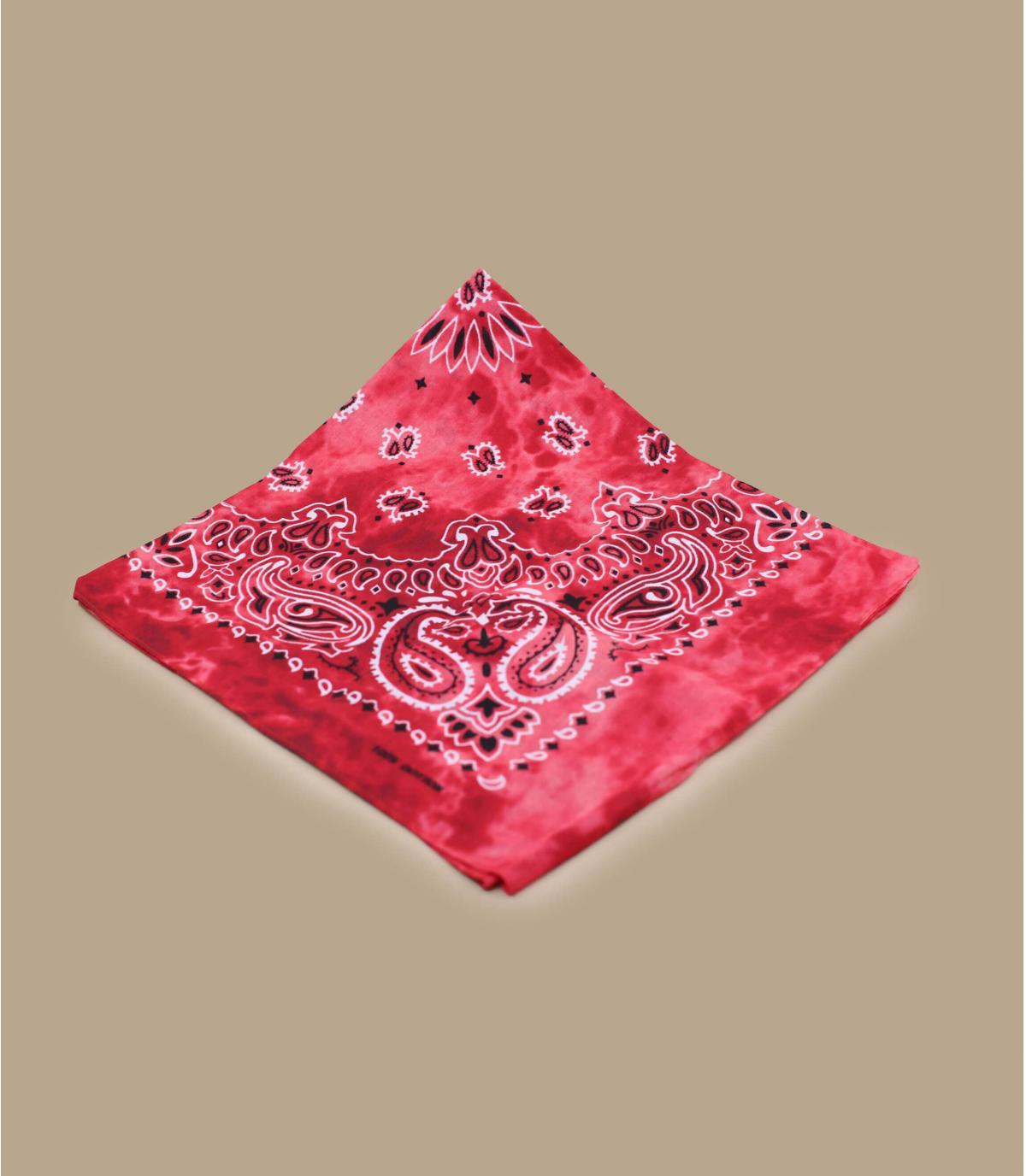 Bandana Tie Dye rossa
