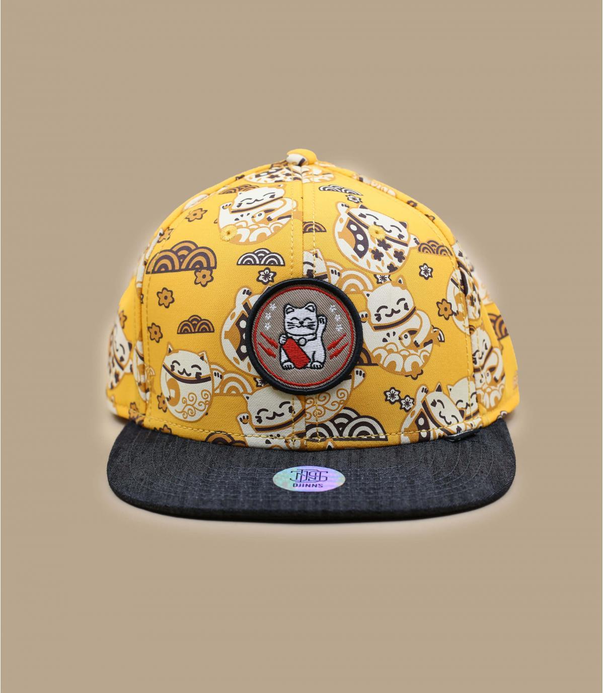 cappellino Djinns giallo gatto
