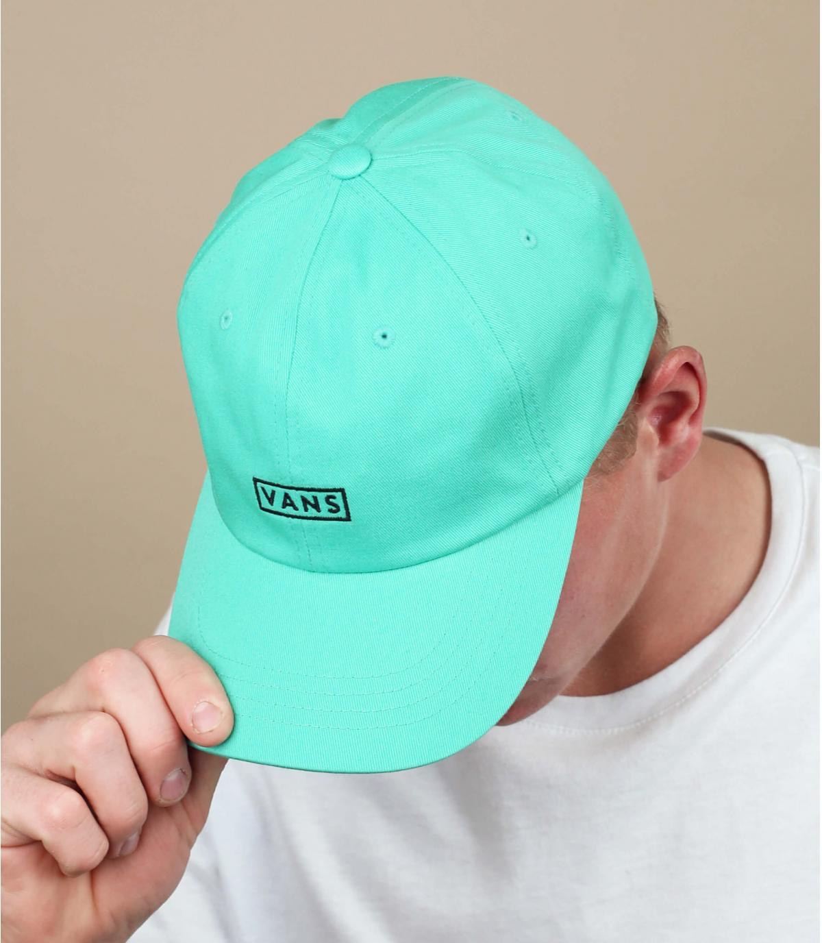 cappellino Vans blu turchese