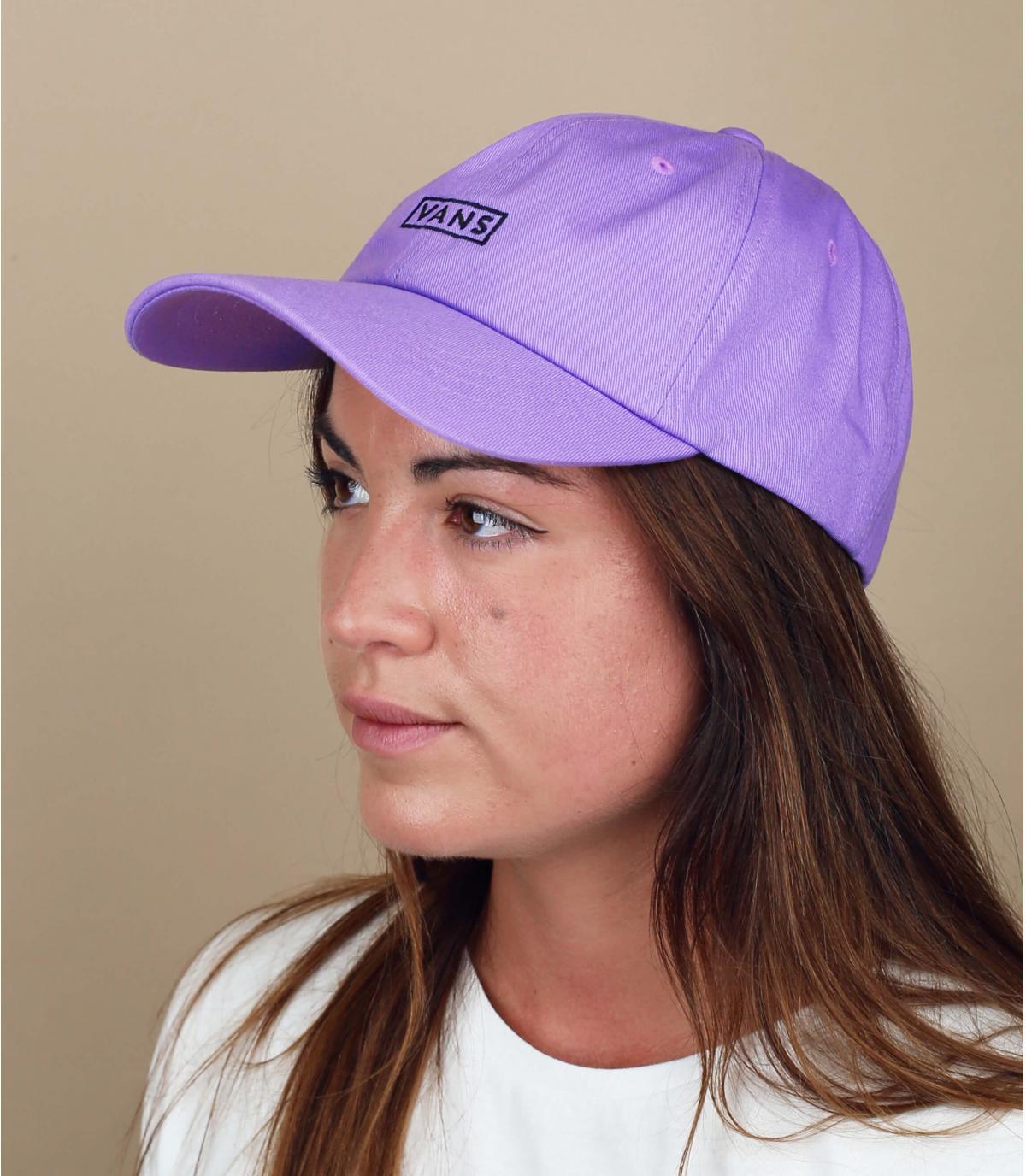 cappellino Vans donna viola